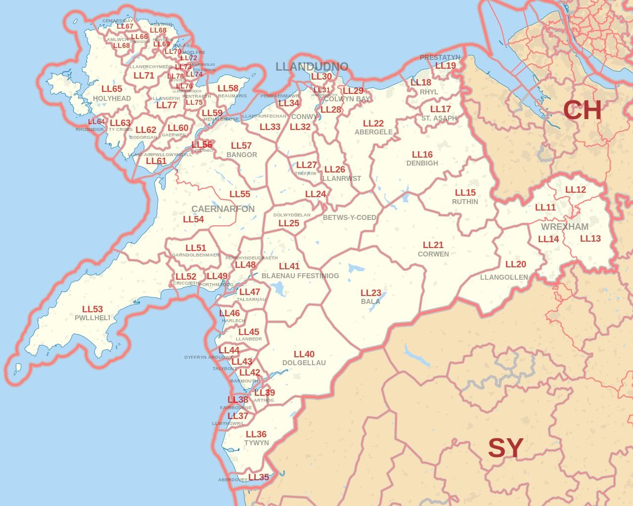 Llandudno map